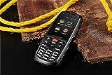 RugGear RG310 (Outdoor-Handy nach IP68 (Wasser- und Staubdicht), DUAL-SIM, Speicher 4 GB ROM und 512 MB RAM, erweiterbar auf 32 GB, Android 4.4, 3G (GSM/WCDMA), Kamera 5 MP (Rückseite), NFC, Bluetooth