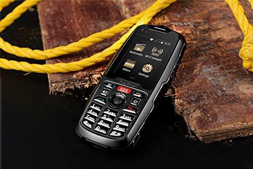 RugGear RG310 Teléfono móvil con Doble Tarjeta SIM - Negro