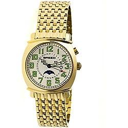 Montre Breed - Affichage analogique bracelet Acier Inoxydable et Cadran BRD6503_gold