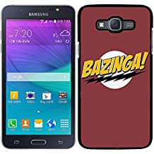 FUNDA CARCASA PARA Samsung Galaxy Grand 3 THE BIG BANG THEORY BAZINGA MOD.2