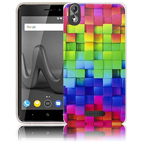 thematys Passend für Wiko Lenny 4 Plus + Buntes Muster (Nicht für Wiko Lenny 4) Handy-Hülle - Silikon - staubdicht, stoßfest & leicht - Smartphone-Case Wiko Lenny 4 Plus +