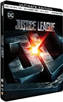 Justice League - Edition limitée Steelbook - 4K Ultra HD + Blu-Ray 3D + 2D - DC COMICS [4K Ultra HD + Blu-ray 3D + Blu-ray + Digital UltraViolet - Édition boîtier SteelBook]