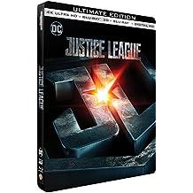 Justice League - Edition limitée Steelbook - 4K Ultra HD + Blu-Ray 3D + 2D - DC COMICS
