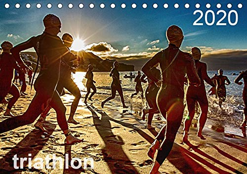 TRIATHLON 2020 (Tischkalender 2020 DIN A5 quer): Triathlon Kalender 2016 (Monatskalender, 14 Seiten ) (CALVENDO Sport)
