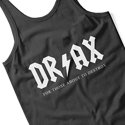 Guardians Of The Galaxy ACDC Drax Women's Vest Black