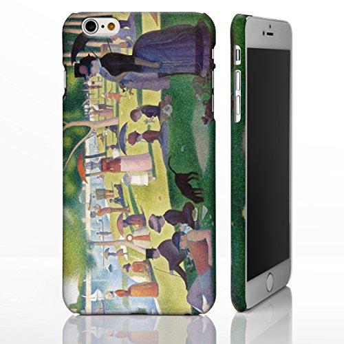Schutzhüllen, für iPhone, mit Motiven aus der klassischen Kunst, Gemälde berühmter Künstler, plastik, Composition VIII - Candinsky, iPhone 6 A Sunday on La Grande Jatte - Georges Seurat