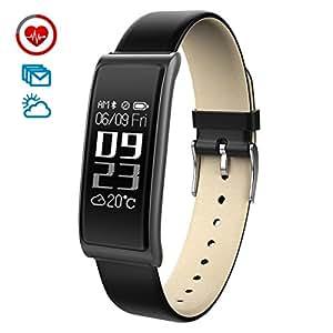 chereeki fitness tracker d 39 activit moniteur de fr quence cardiaque montre connect e fitness. Black Bedroom Furniture Sets. Home Design Ideas