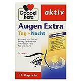 Doppelherz Augen Extra Tag + Nacht Nahrungsergänzungsmittel mit Vitamin A & Zink als Beitrag für den Erhalt der normalen Sehkraft - plus Heidelbeer-Extrakt & Lutein 1 x 30 Kapseln