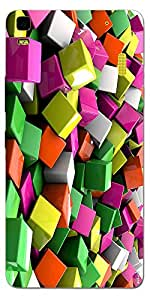 SEI HEI KI Designer Back Cover For Lenovo K3 Note - Multicolor
