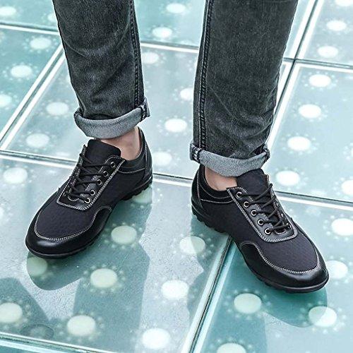 ZXCV Scarpe all'aperto Scarpe casual degli uomini scarpe traspiranti sport all'aria aperta Nero