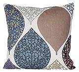 beties Momente Kissenhülle ca. 40x40 cm in interessanter Größenauswahl hochwertig & angenehm 100% Baumwolle Farbe (Hortensie)