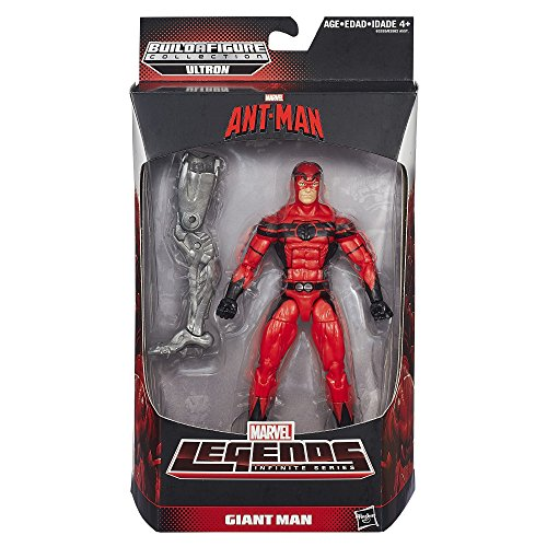 Ant-Man Exclusive Action Figure 6 Inches Marvel Legends Infinite Series