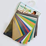 novely® Musterfächer Muster-Sets Möbelstoffe Bezugsstoffe Kunstleder Oxford Outdoorstoffe (15 novely Oxford 420D Sunset)