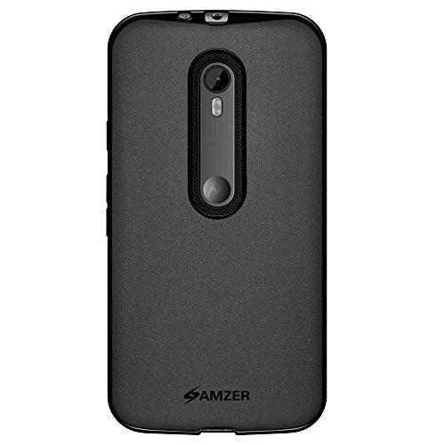 Amzer Pudding TPU Case for Motorola Moto G 3rd Gen XT1540 - Black