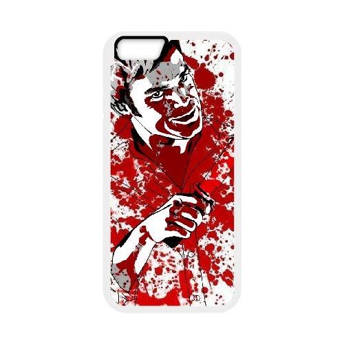 Dexter Blood coque iPhone 6 Plus 5.5 Inch Housse Blanc téléphone portable couverture de cas coque EBDXJKNBO09583