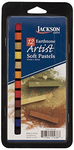 Earthtone-set (Jack Richeson Jackson Pastels Earthtone (Set of 12) by Jack Richeson)