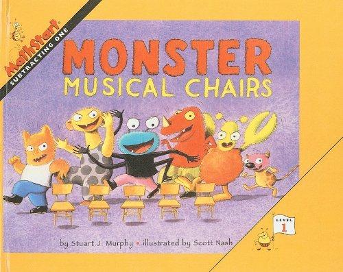 Monster Musical Chairs (Mathstart: Level 1 (Prebound)) by Stuart J Murphy (2000-09-01)