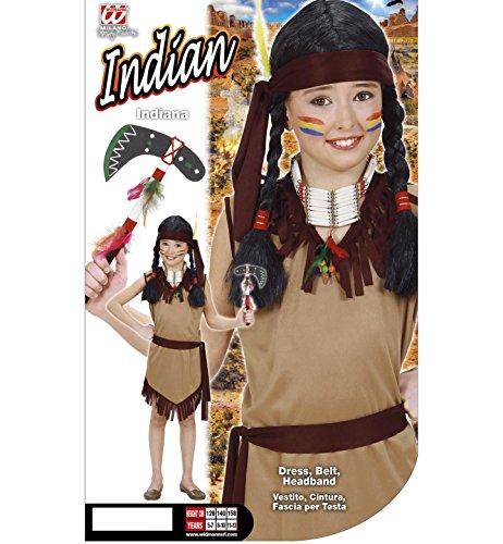 Imagen de girl  disfraz de indio del oeste para niña, talla 8 5  7 años  2606  alternativa