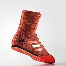 adidas Box Hog Plus botas de boxeo, color rojo y negro, 7 UK / 40.5 EU