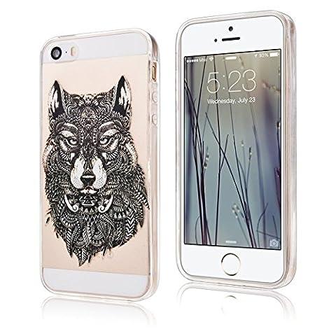 SpiritSun Transparent Handy Hülle Serie für Apple iPhone SE /