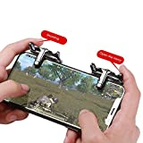 Umiwe Mobile Game Controller pubg, Sensible Schießen und Ziel Löst l1r1 für pubg/Messer aus/Regeln des Überlebens, Mobiles Spiel Trigger Joystick Gamepad für Android iPhone