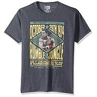 American Classics Unisex-Adults Muhammad Ali Rumble Short Sleeve T-Shirt, Black Heather, Large