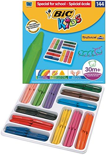 BiC Kids Plastidecor – Caja de lápices de colores (288 unidades)