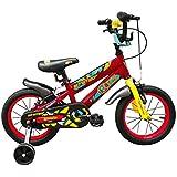 "Firefox Bikes Scrambo 14T Kids Cycle I Ideal for : 3-5 Years I Light Weight Frame  Anti-Skid Pedal I BMX Handlebar I Non Toxic Paint I Power Brake I Seat Height Adjustment I Frame Size: 8.5"""
