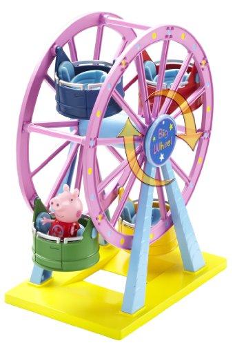Kooky-Toys-Peppa-Pig-Noria-de-juguete-con-mueco-de-Peppa