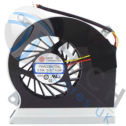 New MSI GE60ms-16ga ms-16gc Kühlung Fan paad06015sl N284E33–0800401-mc2B105