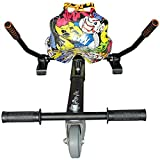 Run & Roll Graffiti 2 Hoverboard, Unisex Niños, Negro, L