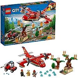 LEGO City Fire - Avión de Bomberos (60217)
