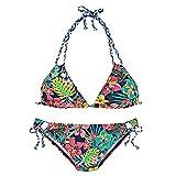 CICIYONER Damen Bikini Set Frauen Brasilianische Badebekleidung Halter Weste Tops Badeanzug Strand Badeanzüge