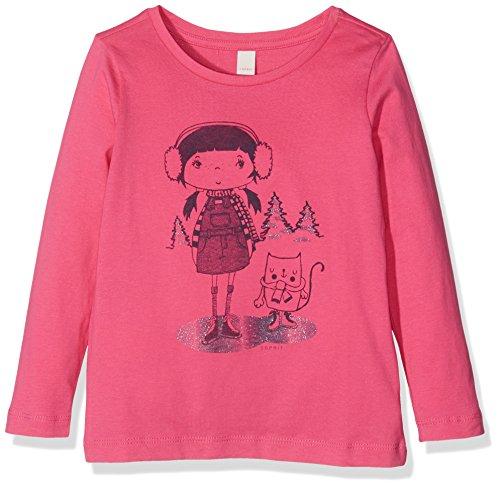Esprit Kids Mädchen T-Shirt, Rosa (Fuchsia 356), 128 (Herstellergröße:128/134)
