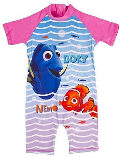 Girls Character Swimsuits Sun Safe Beach Swimming Costume Sunsuit Kids Size UK 1-5 Years