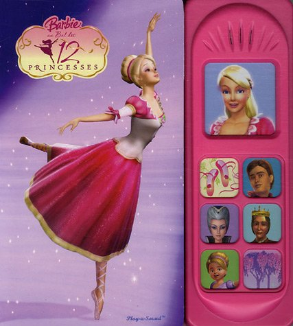 BARBIE AU BAL DES 12 PRINCESSE