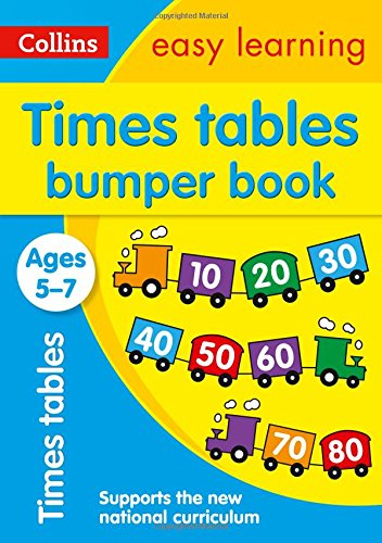 Times Tables Bumper Book Ages 5-7 (Collins Easy Learning Ks1) (Bumper Book)