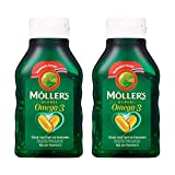 Möller's Omega-3 Double Fischöl Kapseln (112 Kapseln) - 2-Pack