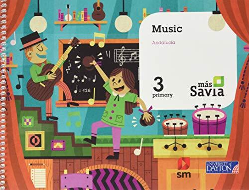 Music. 3 Primary. Más Savia. Andalucía