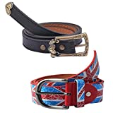 Diovanni Combo Of 2 Fancy Belts For Wome...