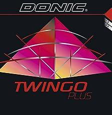 Donic Twingo Plus Max Table Tennis Rubber (Black)