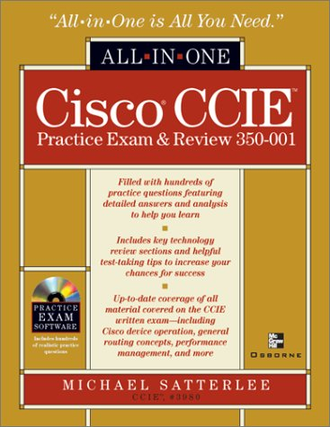 Cisco CCIE Practice Exam and Review, 350-001 (All-In-One)