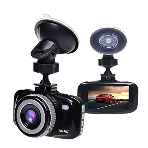 TOGUARD F20 enormous Eye Dashcam Dashboard Camera Black 27 LCD full HD 1080P H264 G Sensor LDWS FCWS Parking Monitor Motion Detection automotive Driving Recorders