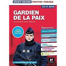 Réussite concours - Gardien de la paix Cat. B - 2018-2019 - Préparation complète