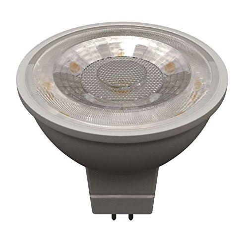 Transparent 7w Led (EMOS LED Glühlampe Premium MR16 36° 7W GU5,3 warm weiß, Glas, GU5.3, 7 W, transparent, 5,2 x 5,2 x 5,5 cm)