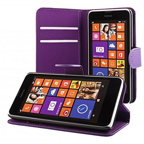 ECENCE Handyhülle Schutzhülle Case Cover kompatibel für Nokia Lumia 630/630 Dual SIM / 635 Handytasche 41020302 (Sim-karte Für Nokia Lumia 635)