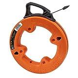 Klein Tools 56005 Kabeleinziehband aus Stahl, 7.6 m