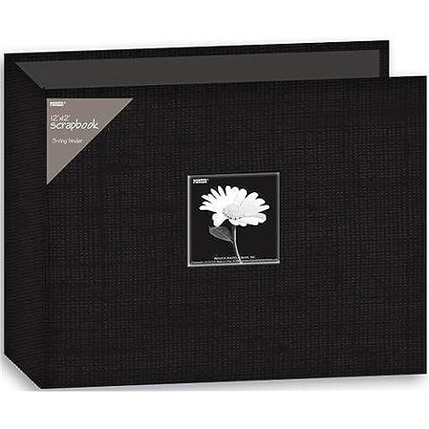 Pioneer Album classeur 3anneaux tissu 30,5x 30,5cm,