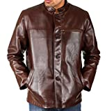 Shagoon Emporium Men's Leather Jacket(co...
