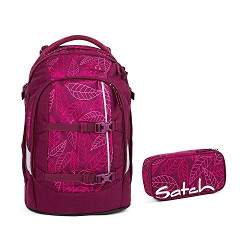 Satch Pack 2tlg. Set mit BOX – Purple Leaves